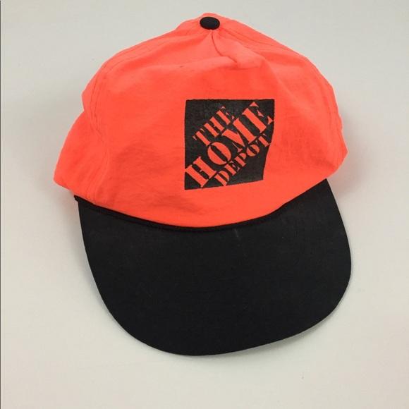 015535aaff76e8 Vintage Accessories | Home Depot Hat | Poshmark